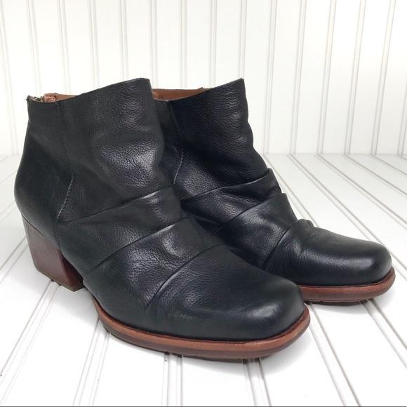 Kork-Ease Shoes - Kork-Ease Kissel Leather Boots Square Toe Size 8.5